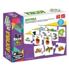 Обучающая игра-пазл Baby You Логика 30 карточек