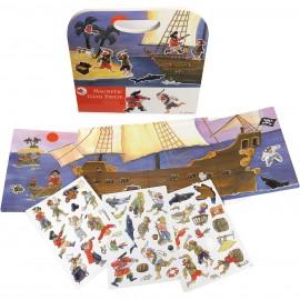 Магнитная игра Пиратский корабль