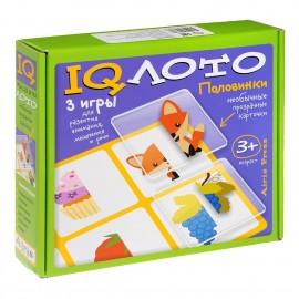 IQ Лото Половинки. Комплект из трех игр