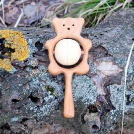 Погремушка с горохом Медвежонок