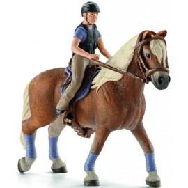 Всадница на лошади