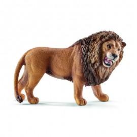 Лев, рычащий