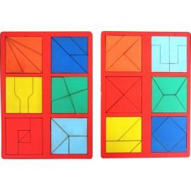 Сложи квадрат Б.П. Никитина 2 уровень (мини)