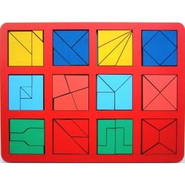 Сложи квадрат Б.П. Никитина 2 уровень (макси)