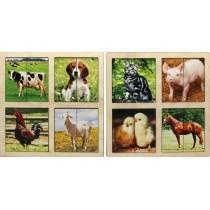 "Картинки-половинки ""Домашние животные"" (два планшета)"