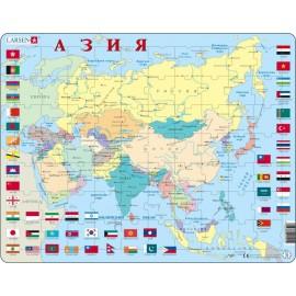 Пазл Азия, русский, 70 деталей