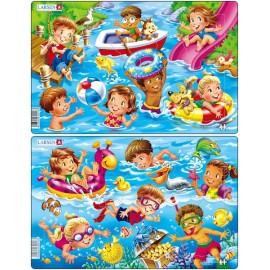 Дети на море (2), в ассортименте, 11 деталей