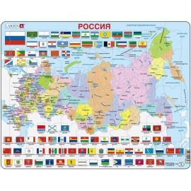 Пазл Россия, русский, 70 деталей
