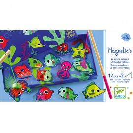 Магнитная игра рыбалка Цвета
