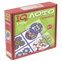 IQ Лото. Орнаменты. Комплект из трех игр