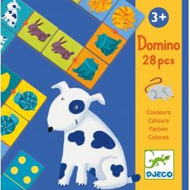 Настольная игра Домино Цветные животные