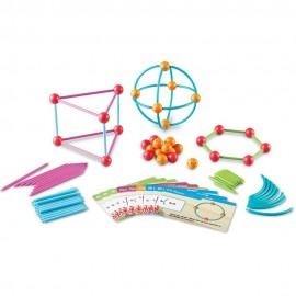 Набор «Погружение в геометрию» 114шт с карточками