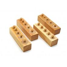 Монтессори гирьки деревянные МРИ