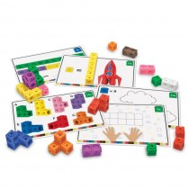 """Набор """"Соединяющиеся кубики"""", с карточками"""