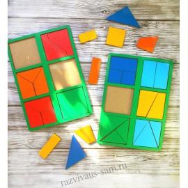Сложи квадрат Б.П. Никитина 1 уровень (мини)