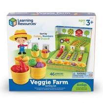 """Набор для сортировки """"Выращиваем овощи"""", с карточками"""