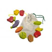 Овощи шнуровка