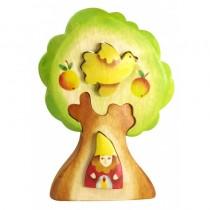 Пазл Гном в дереве