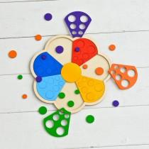 Мозаика-сортер Цветик-семицветик